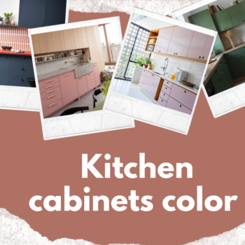 """ kitchen color """