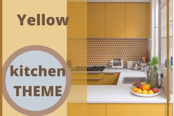 """""""yellow color kitchen"""""""