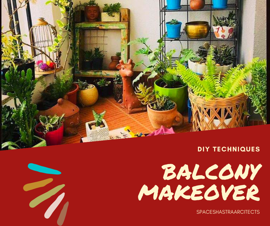 """balcony makeover """