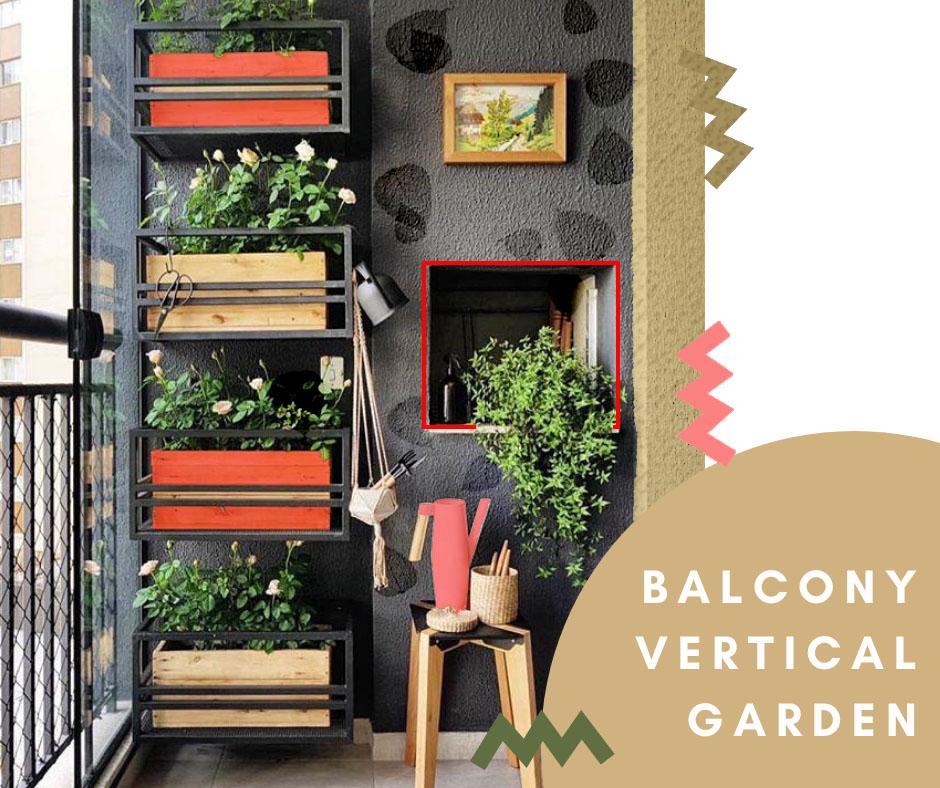 """ vertical garden """