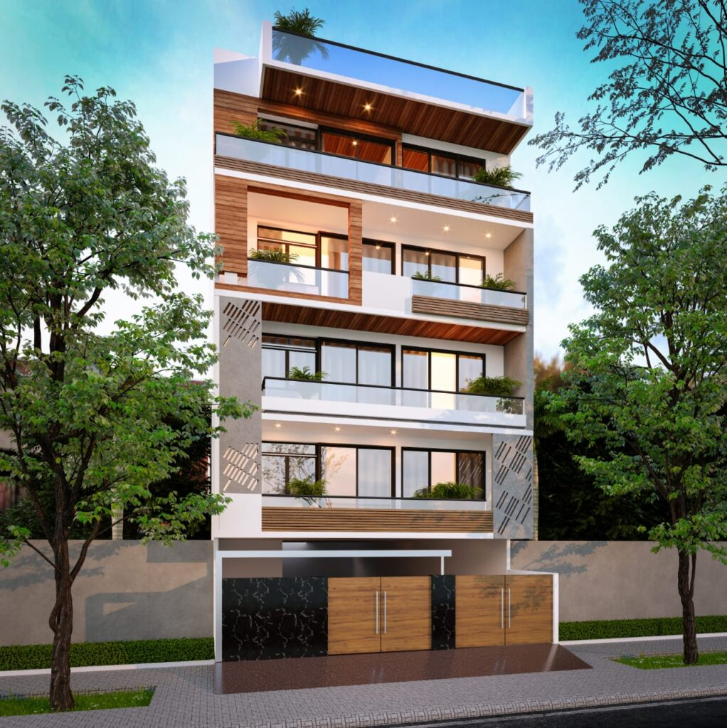 Building Design by Architects in NIT Faridabad